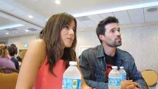 Marvel's Agents of SHIELD Interview with Chloe Bennet and Brett Dalton Thumbnail