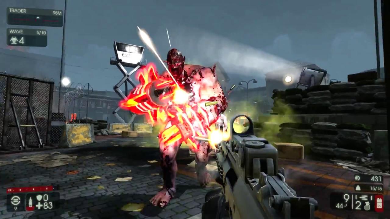 Killing Floor 2 Hoe Evacuation Point Solo Survivalist Long Game W Hans Youtube