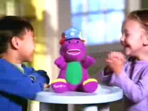 Silly Hats - Barney - Toy TV Commercial - TV Spot - TV Ad - Fisher Price