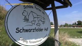 Campingplatz Schwarzfelder Hof Leipheim Bayern Deutschland September 2016