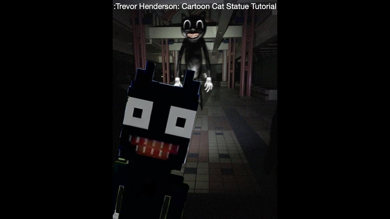 Trevor Henderson Cartoon Cat Statue Tutorial Youtube