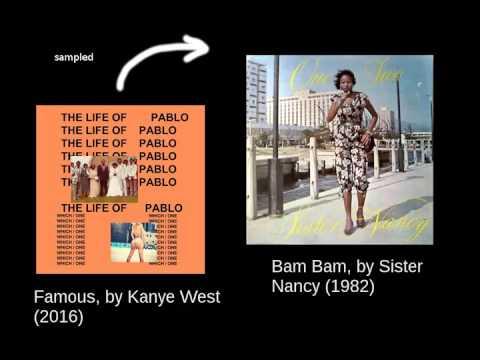 Kanye West  Famous  Bam Bam loop 15 min