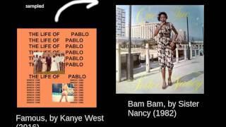 Kanye West - Famous - Bam Bam loop 15 min