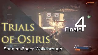 Trials of Osiris Sonnensänger Makellos Walkthrough #4-nale Blindwacht | Deutsch | HD