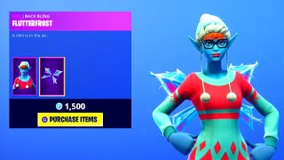 "Peau ""SUGARPLUM"" ' 'NEW'! Fuite FAIRY SKIN ( Fortnite DAILY ITEM SHOP [30 décembre]"