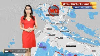 Weather Forecast for July 18: Rain in Gujarat, Coastal Karnataka, Kerala