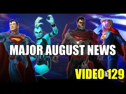 DC Legends Game Video 129 = Major August News