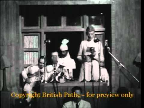 "Quaid-e-Azam Muhammad Ali Jinnah's speech ""Making of Pakistan"" on 14 August 1947.mpg"