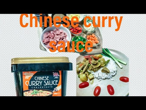 Tasty Chinese Curry Sauce