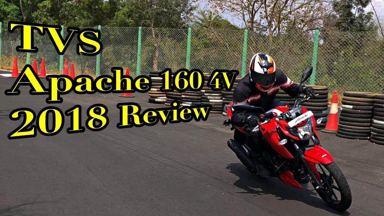 2018 TVS Apache RTR 160 4V Review, Performance, Mileage