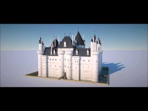 Medieval Louvre 3d reconstruction
