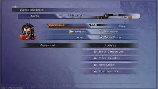 FINAL FANTASY X/X-2 HD Remaster- Auron Celestial weapon complete