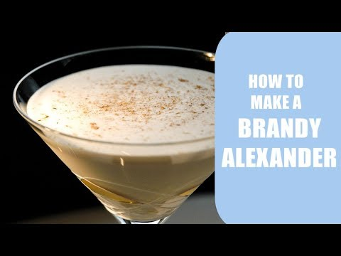 Brandy Alexander | Cocktail | Bartending