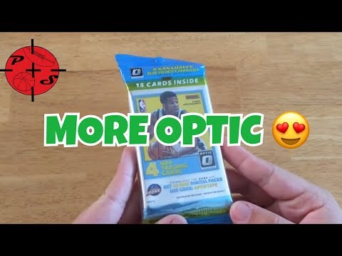 MORE OPTIC!! 2017-18 Panini Optic Value Hanger pack Basketball Cards Opening!