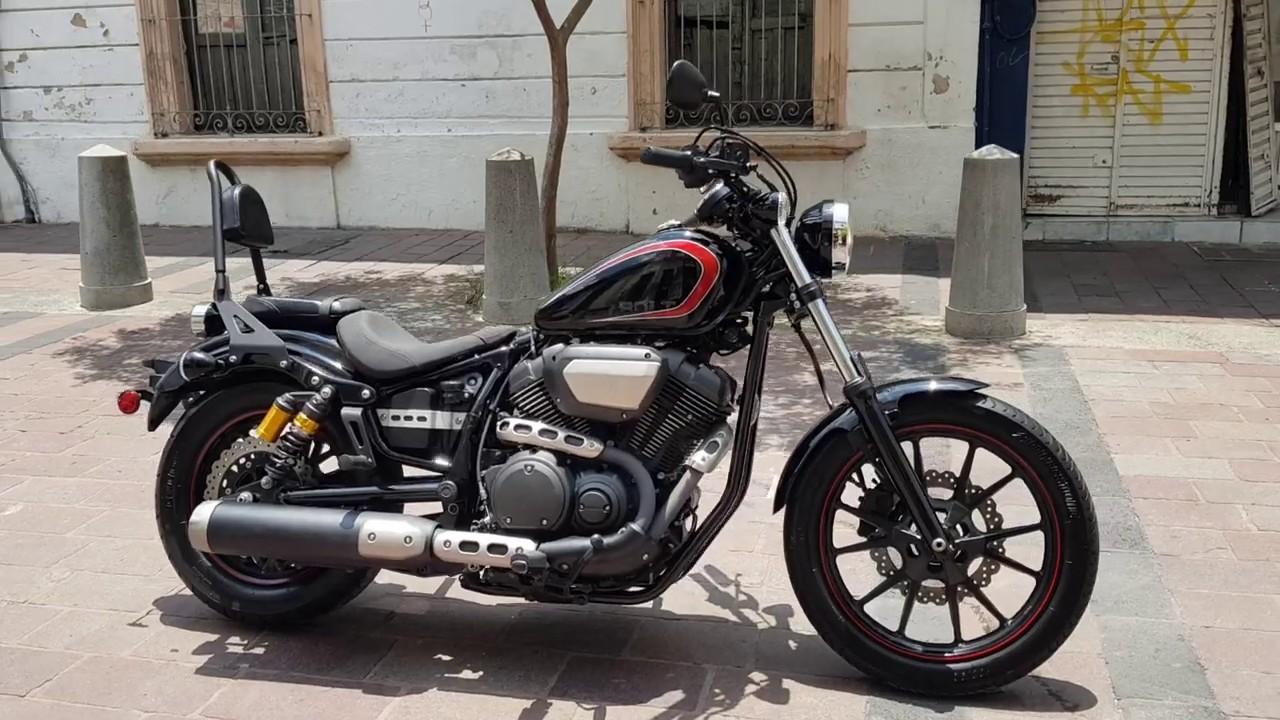 Yamaha bolt raven 950 cc año 2015 - YouTube