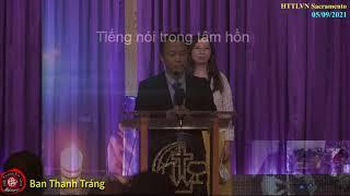HTTLVN Sacramento | Ngày 05/09/2021 | Chương trình thờ phượng | MSQN Hứa Trung Tín