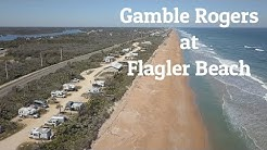 Gamble Rogers Campground at Flagler Beach, Florida