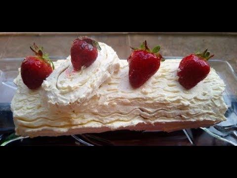 swiss-roll-cake-(gâteau-roulé)-سويس-رول