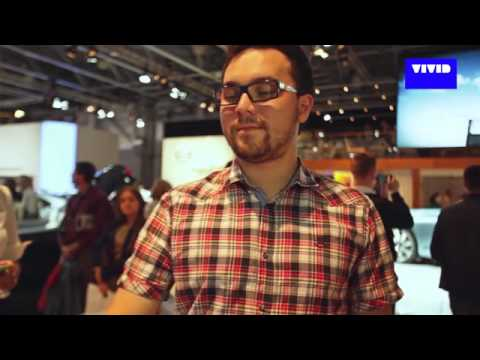Interactive solutions for Volvo on Moscow International Automobile Salon