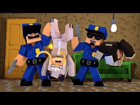 VERRÜCKTE POLIZISTEN DURCHSUCHEN UNSER HAUS! ✿ Minecraft [Deutsch/HD]