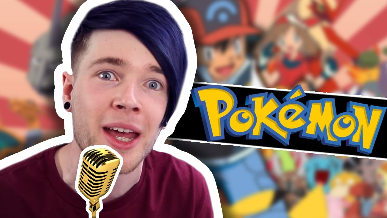 Dantdm sings the pokemon theme song viyoutube - Diamond minecart theme song ...