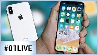 iPhone X : ce que révèlent nos premiers tests ! 01LIVE HEBDO #161
