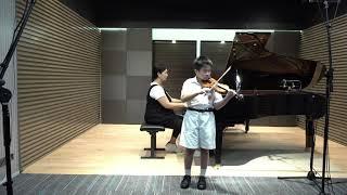 Publication Date: 2021-05-22 | Video Title: 民生書院小學  |  學生姓名:施皓晴  |  小提琴鋼琴親