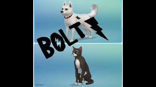 Создание Героев Мультфильма ВОЛЬТ в The Sims 4 Кошки и Собаки