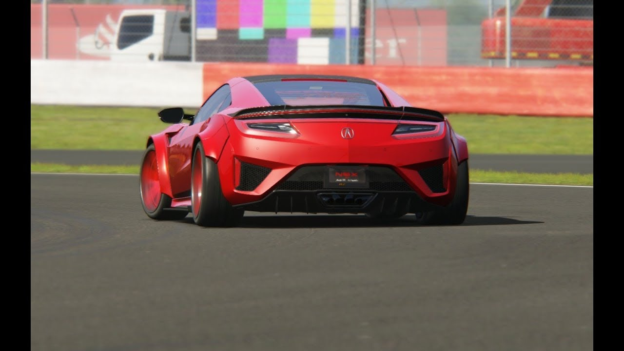 Acura Nsx Fe Bz 18 Top Gear At Silverstone