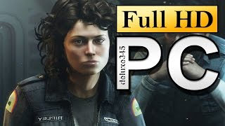 Alien: Isolation Gameplay (PC HD)
