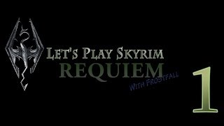 Let's Play (modded) Skyrim - Requiem and Frostfall - Part 1
