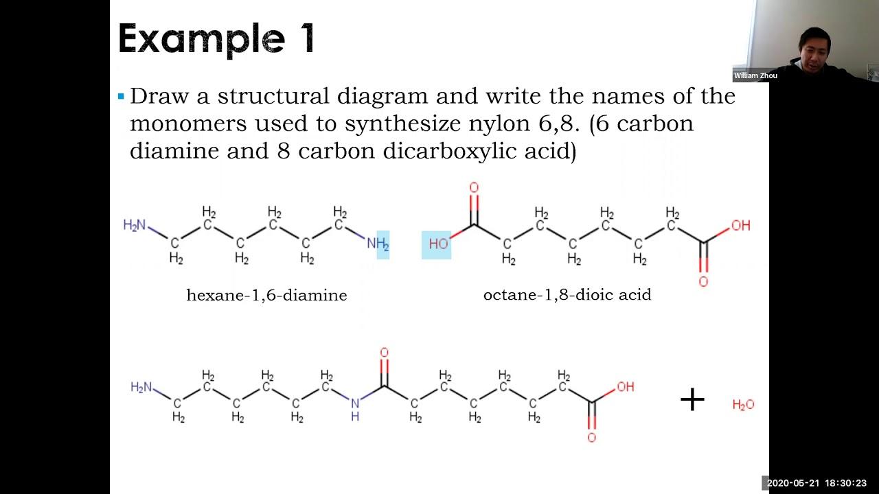 Download Chemistry 12 SCH4U Condensation Polymers