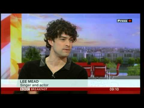 Lee Mead on BBC Breakfast 28 Feb 2014