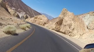 Death Valley Motorcycle Ride: Badwater to Furnace Creek