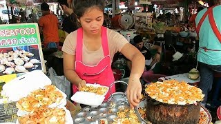 Thai Street Food in Bangkok 2019  Best Black Crepe and Pad Thai in Thailand