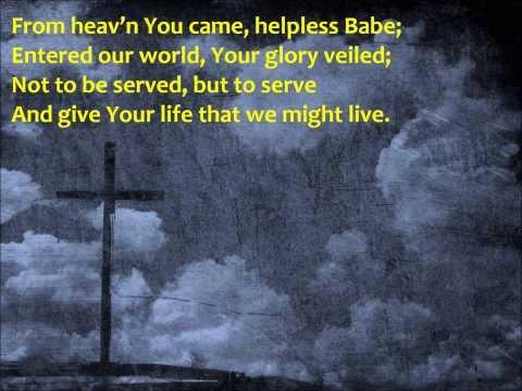 The Servant King {with lyrics} - //Graham Kendrick\\ ++Nicki Rogers++