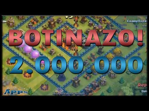 Botinazo 2 Millones En Recurso - Mundo Clash Of Clans