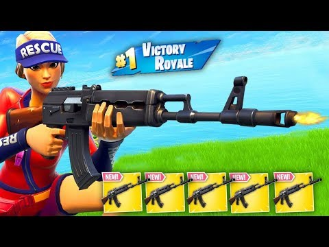 5 Heavy AR\'s In my Inventory.. (Fortnite)