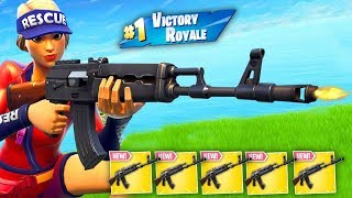 5 Heavy AR's In my Inventory.. (Fortnite)