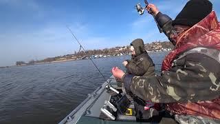 Рыбалка на дроп-шот первый опыт и весенняя тарань в начале марта 2020 года