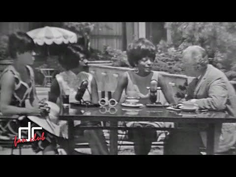 The Supremes - Luncheon Date [1966] (Rare Interview)