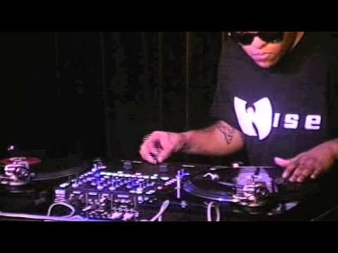 DJ Wise@ Across The Fader 2 DJ Battle Los Angeles LA 2012 Round 5