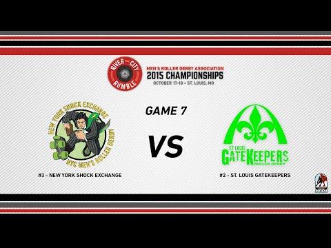 River City Rumble - 2015 MRDA Championships -G7 New York vs St. Louis GateKeepers