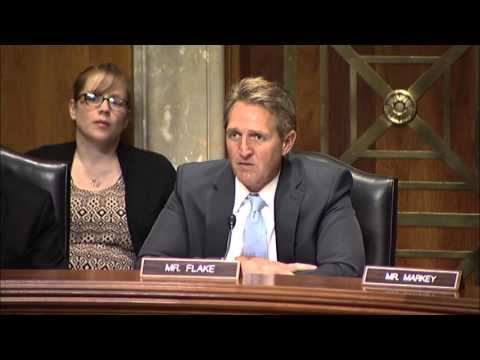 Flake Q&A During Senate Foreign Relations Hearing on Ebola