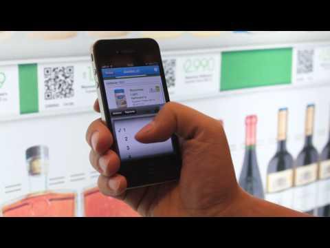 JCDecaux Chile: Jumbo Mobile, compra virtual en Metro de Santiago