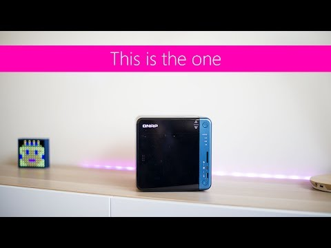 QNAP TS-453B NAS with 10Gb Ethernet option USB C connect. Best 4 bay NAS