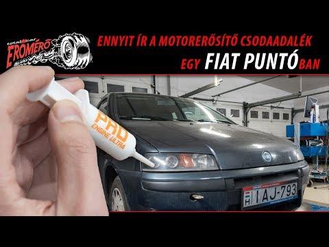 Totalcar Erőmérő: Ennyit ér a csodaadalék egy Fiat Puntóban