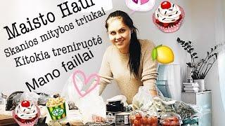 DailyVlog #31: Maisto Haul, kitokia treniruotė ir mano faillai