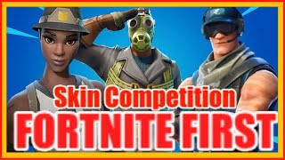 OMG!! RARE SKIN COMPETITION!!?? EVER | Season 9 fortnite battle royal