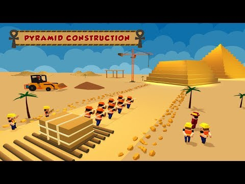 Egypt Pyramid Builder Games Android Gameplay